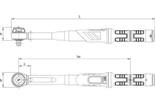 Gedore Drehmomentschlüssel Dremaster K 12 40 200 Nm Dmk 200 Und 30